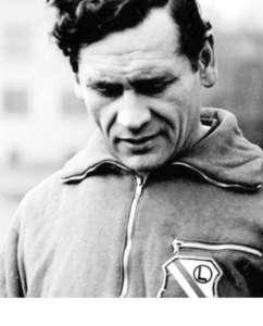 Kzimierz Górski jako trener Legii Warszawy